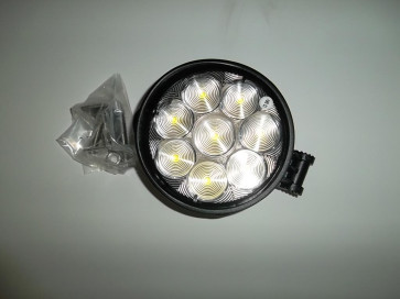 LED ROUND TRACT; 4.5 DIAM; FLOOD; 8 DIODE