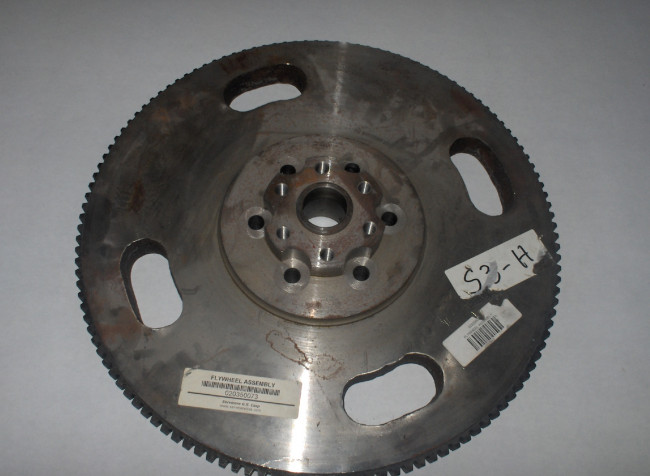 FLYWHEEL ASSEMBLY, PERKINS ENGINES TO C6 TRANSMISSION